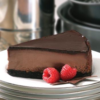 Scopri come preparare una gustosa cheesecake al cioccolato!